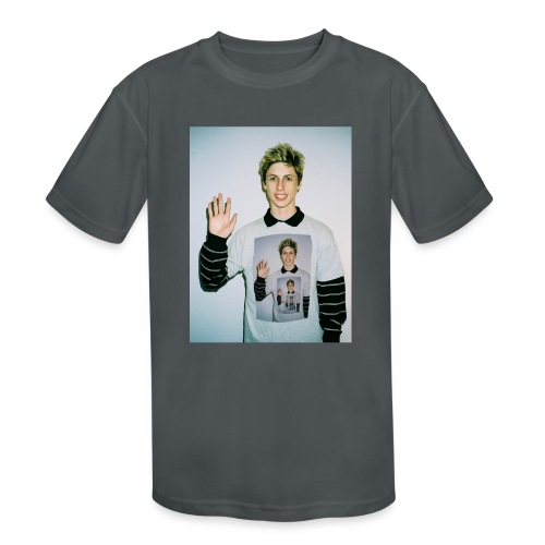 lucas vercetti - Kids' Moisture Wicking Performance T-Shirt
