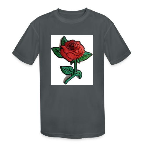 t-shirt roses clothing🌷 - Kids' Moisture Wicking Performance T-Shirt