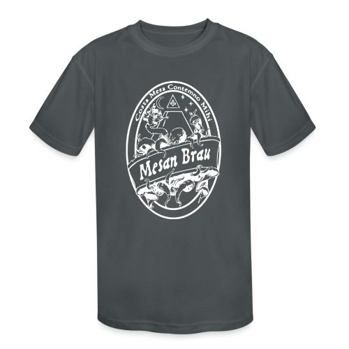 mesanbraucthsingle - Kids' Moisture Wicking Performance T-Shirt