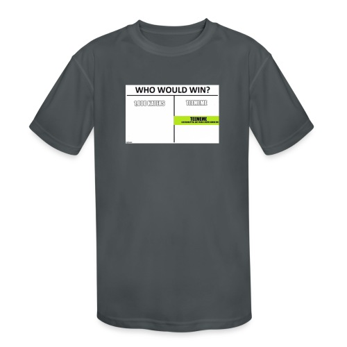 Who Would Win Kid Clothing - Kids' Moisture Wicking Performance T-Shirt