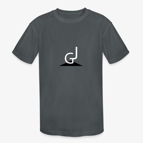 James Garlimah Logo - Kids' Moisture Wicking Performance T-Shirt