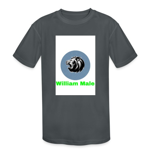 William Male - Kids' Moisture Wicking Performance T-Shirt