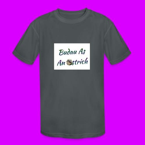 ipod touch ostrich box - Kids' Moisture Wicking Performance T-Shirt