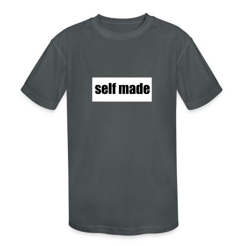 self made tee - Kids' Moisture Wicking Performance T-Shirt