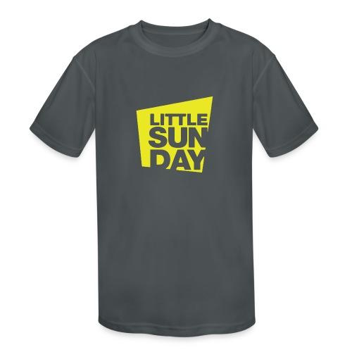 littleSUNDAY Official Logo - Kids' Moisture Wicking Performance T-Shirt