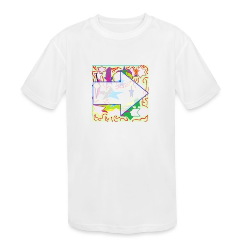 shapes - Kids' Moisture Wicking Performance T-Shirt