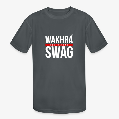Wakhra Swag W - Kids' Moisture Wicking Performance T-Shirt