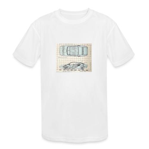 drawings - Kids' Moisture Wicking Performance T-Shirt