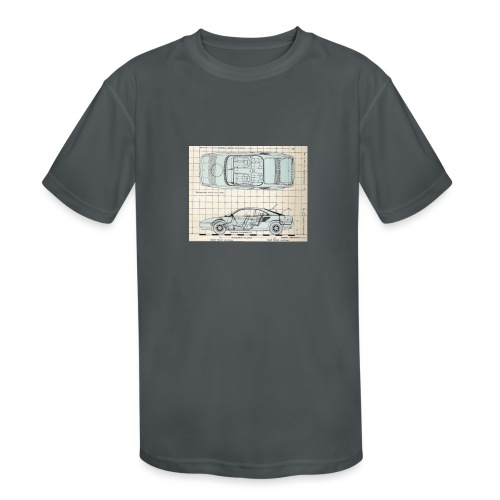 drawings - Kids' Moisture Wicking Performance T-Shirt