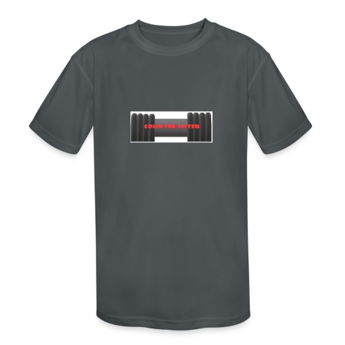 colin the lifter - Kids' Moisture Wicking Performance T-Shirt