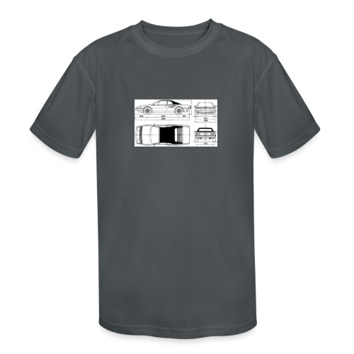 artists rendering - Kids' Moisture Wicking Performance T-Shirt