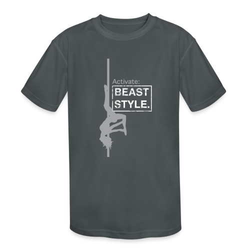 Activate: Beast Style - Kids' Moisture Wicking Performance T-Shirt