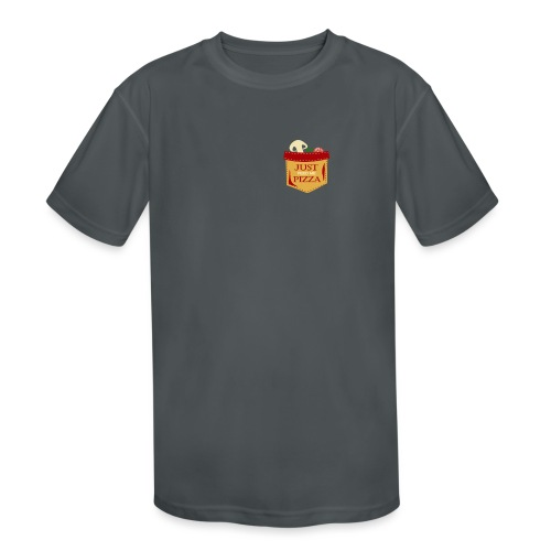 Just feed me pizza - Kids' Moisture Wicking Performance T-Shirt