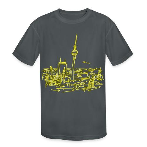 Panorama of Berlin - Kids' Moisture Wicking Performance T-Shirt