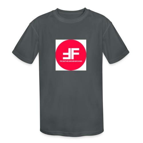 This is the underGround - Kids' Moisture Wicking Performance T-Shirt