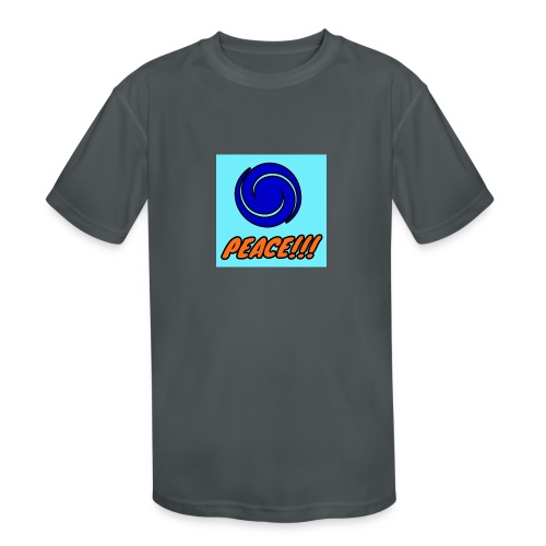 Peace - Kids' Moisture Wicking Performance T-Shirt