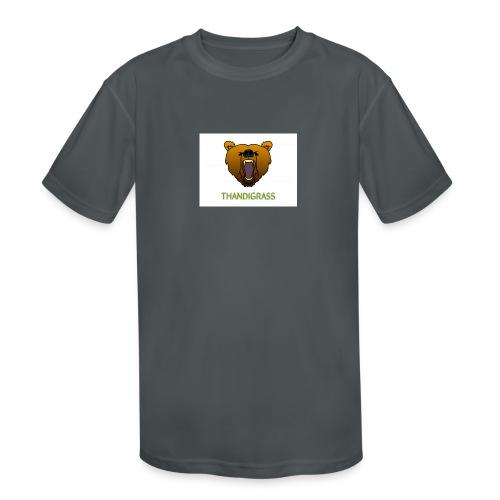 THANDIGRASS - Kids' Moisture Wicking Performance T-Shirt