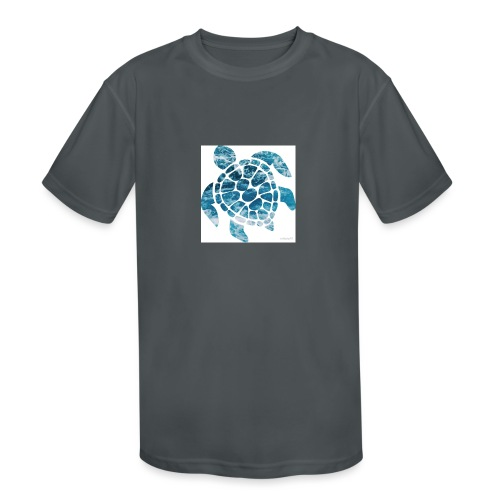 turtle - Kids' Moisture Wicking Performance T-Shirt