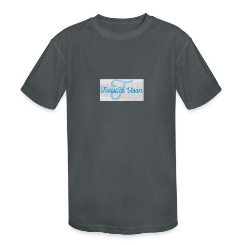 TwiiSt3D - Kids' Moisture Wicking Performance T-Shirt