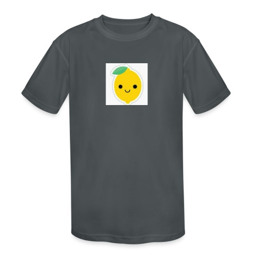 Lemon Squeeze - Kids' Moisture Wicking Performance T-Shirt