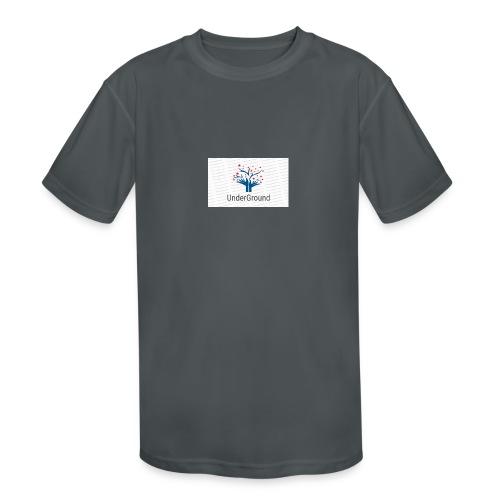 Charity Logo - Kids' Moisture Wicking Performance T-Shirt