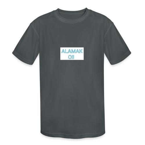 ALAMAK Oi! - Kids' Moisture Wicking Performance T-Shirt