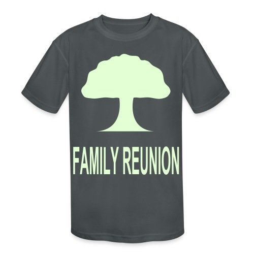 ***12% Rebate - See details!*** FAMILY REUNION add - Kids' Moisture Wicking Performance T-Shirt