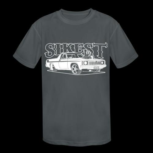 SIKEST - HJ UTE BLOWN BIG BLOCK DESIGN - Kids' Moisture Wicking Performance T-Shirt