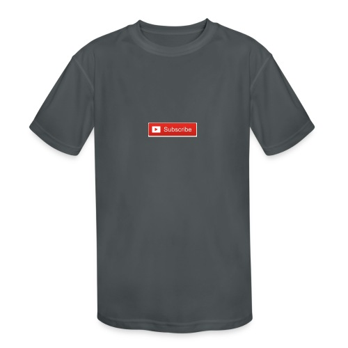 YOUTUBE SUBSCRIBE - Kids' Moisture Wicking Performance T-Shirt
