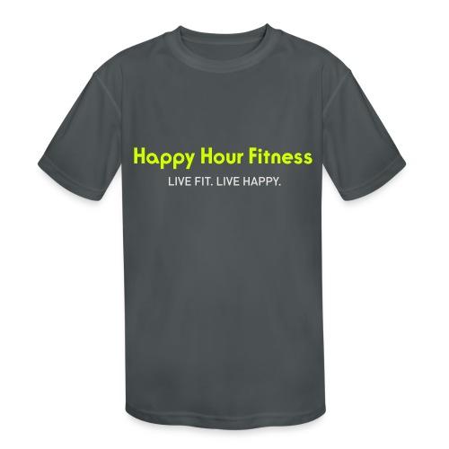HHF_logotypeandtag - Kids' Moisture Wicking Performance T-Shirt