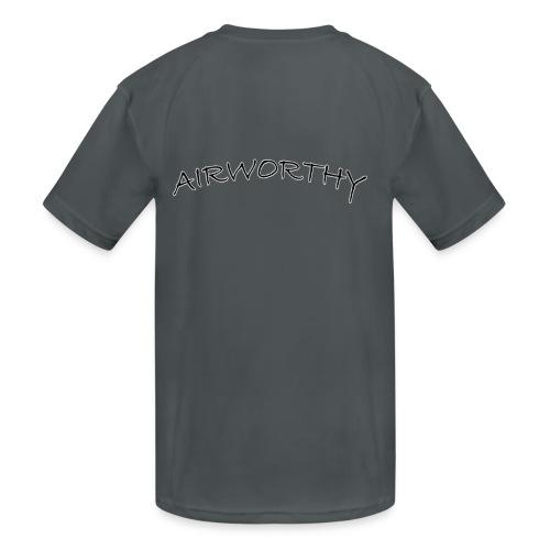 Airworthy T-Shirt Treasure - Kids' Moisture Wicking Performance T-Shirt