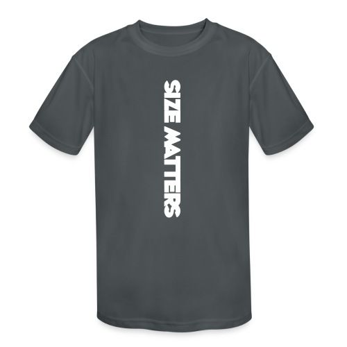 SIZEMATTERSVERTICAL - Kids' Moisture Wicking Performance T-Shirt