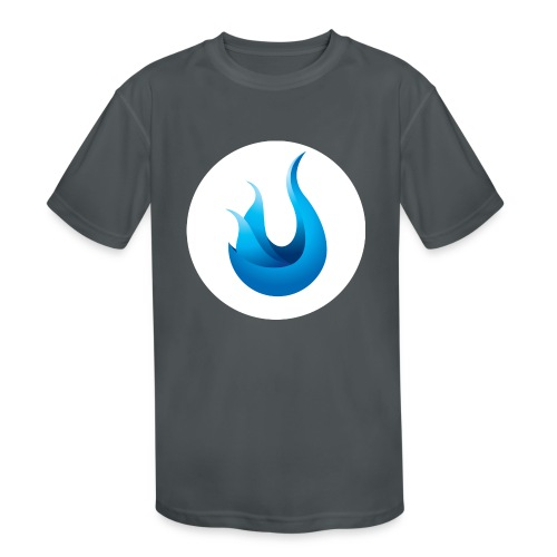 flame front png - Kids' Moisture Wicking Performance T-Shirt