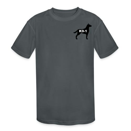 k9-1 Logo Large - Kids' Moisture Wicking Performance T-Shirt