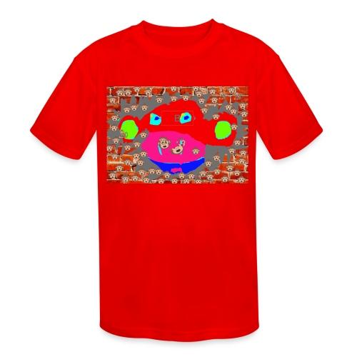 monkey by brax - Kids' Moisture Wicking Performance T-Shirt