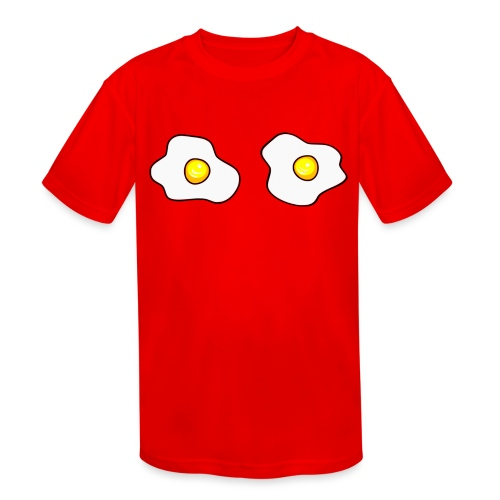 Eggs - Kids' Moisture Wicking Performance T-Shirt