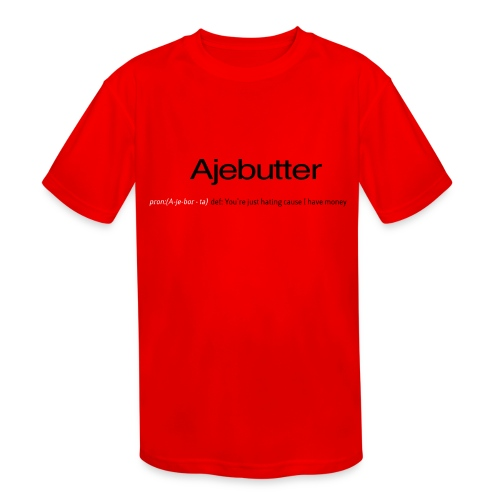 ajebutter - Kids' Moisture Wicking Performance T-Shirt