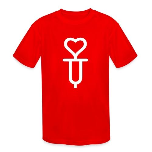 Addicted to love - Kids' Moisture Wicking Performance T-Shirt
