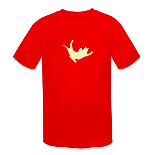 Fly Cat - Kids' Moisture Wicking Performance T-Shirt