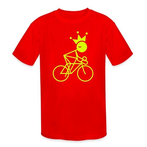 Winky Cycling King - Kids' Moisture Wicking Performance T-Shirt