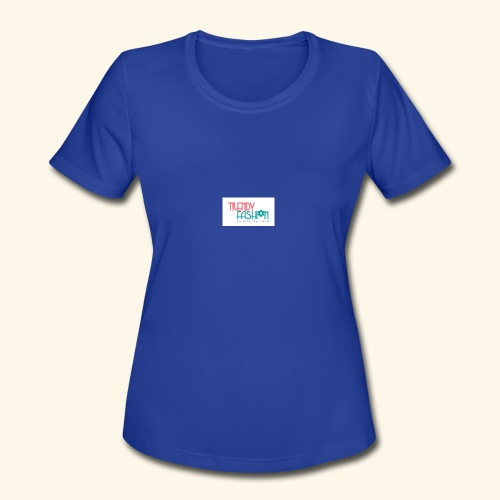 Trendy Fashions Go with The Trend @ Trendyz Shop - Women's Moisture Wicking Performance T-Shirt