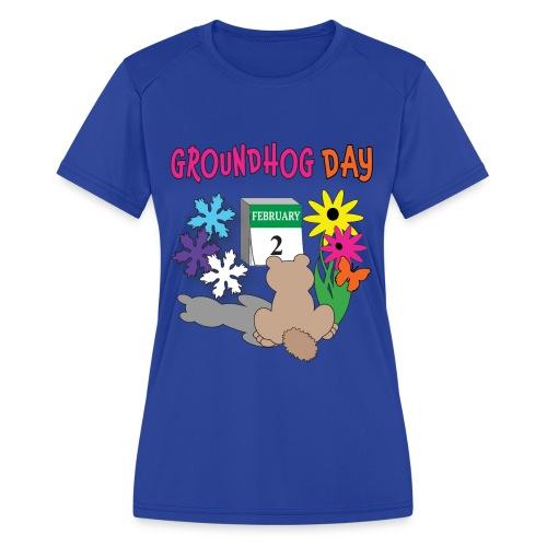 Groundhog Day Dilemma - Women's Moisture Wicking Performance T-Shirt