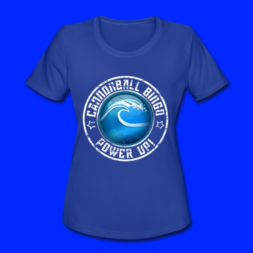 Vintage Tsunami Power-Up Tee - Women's Moisture Wicking Performance T-Shirt