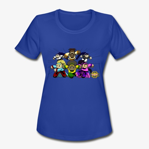 The Guardians of the Cloudgate w/ Logo - Women's Moisture Wicking Performance T-Shirt
