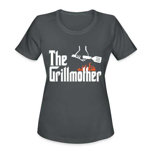 The Grillmother - Women's Moisture Wicking Performance T-Shirt