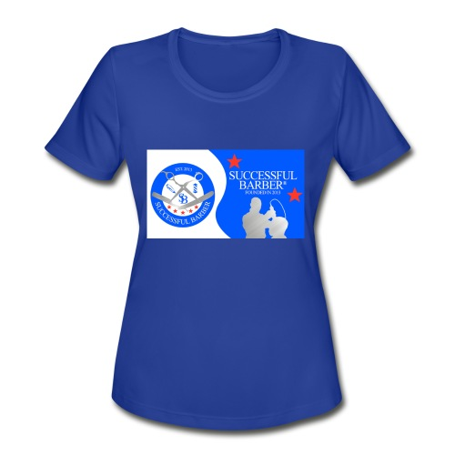 Official Successful Barber - Women's Moisture Wicking Performance T-Shirt