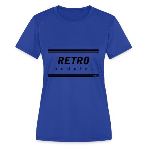 Retro Modules - Women's Moisture Wicking Performance T-Shirt