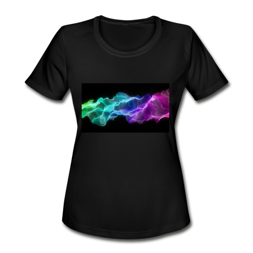 ws Curtain Colors 2560x1440 - Women's Moisture Wicking Performance T-Shirt