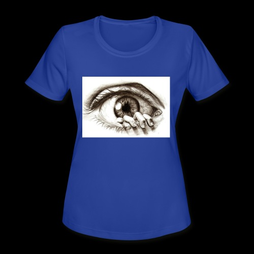 eye breaker - Women's Moisture Wicking Performance T-Shirt