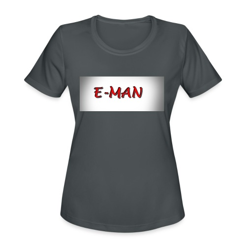 E-MAN - Women's Moisture Wicking Performance T-Shirt
